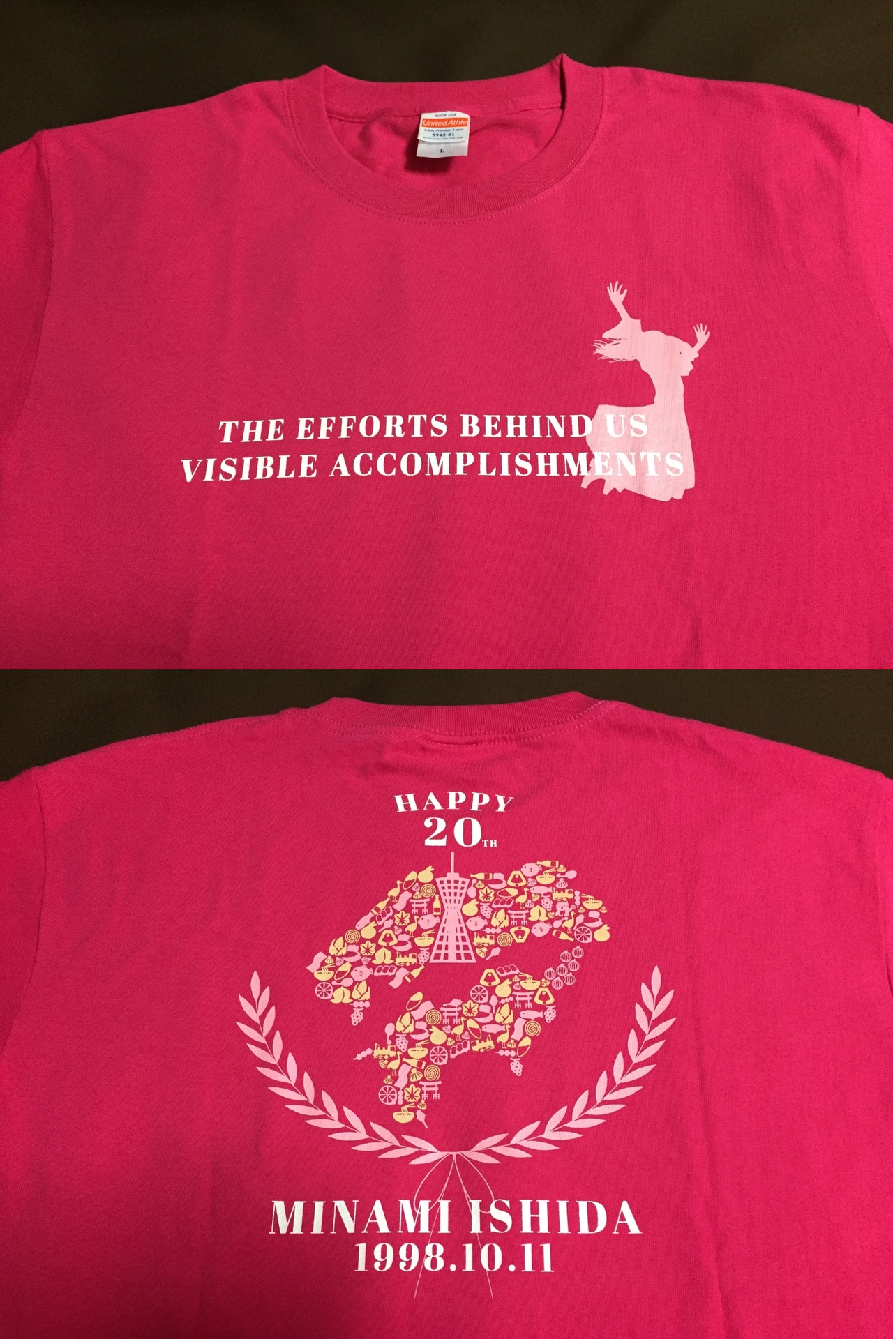 2018年生誕Tシャツ