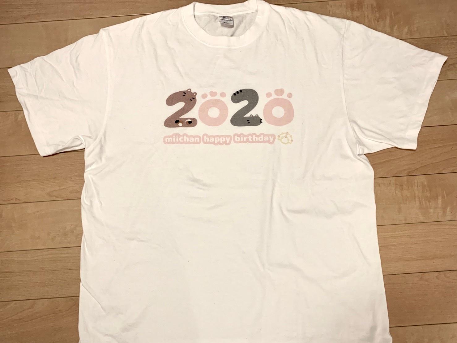 生誕Tシャツ表